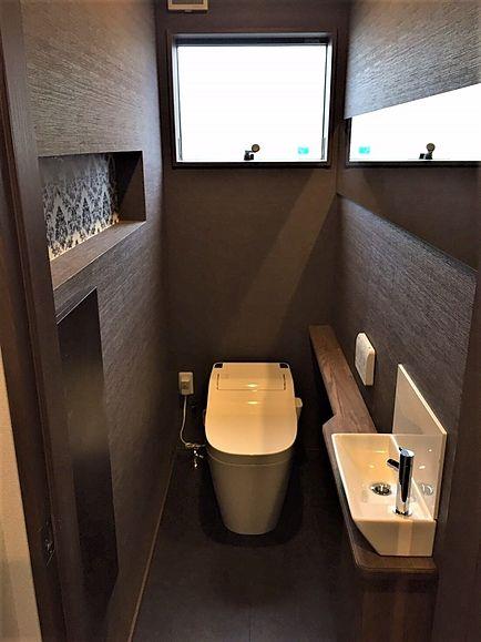 島村邸 トイレ