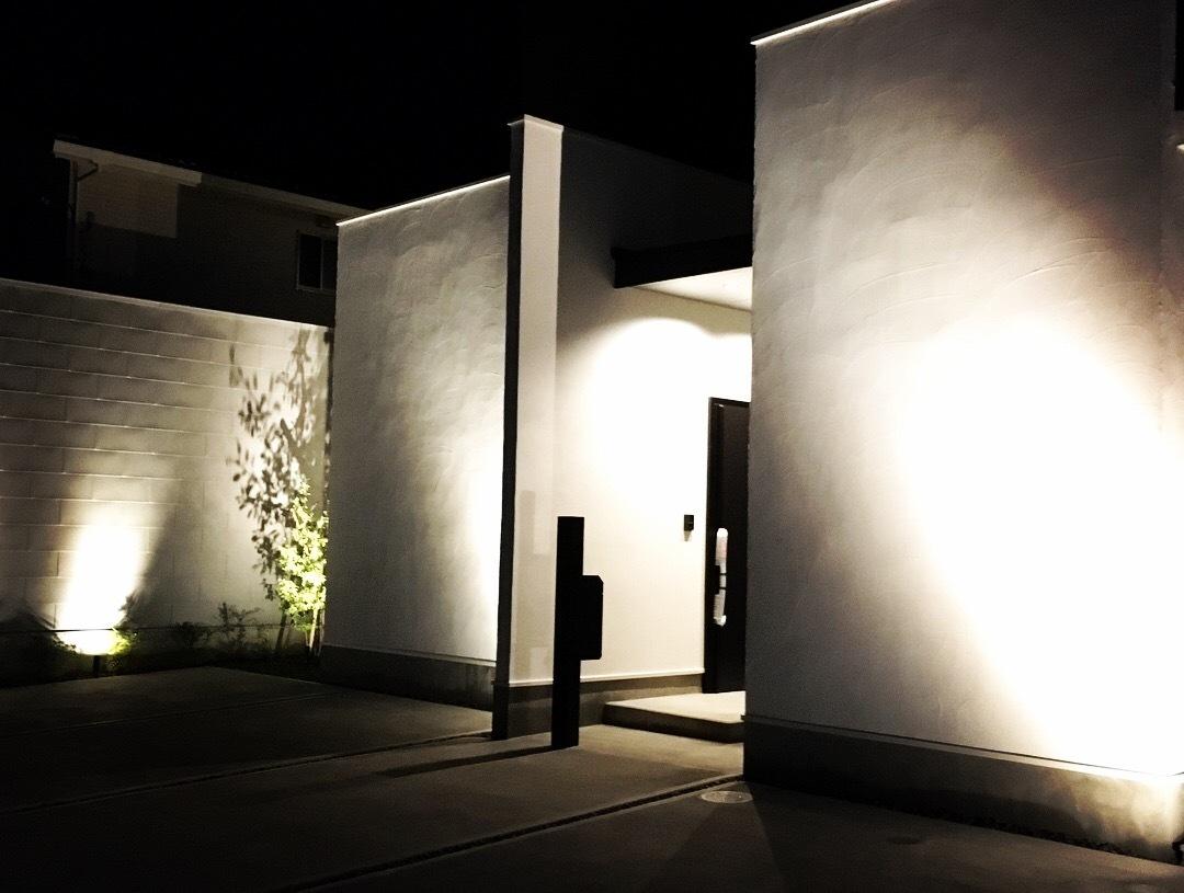 夜の中嶋邸